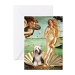 Venus / Beardie #1 Greeting Cards (Pk of 20)