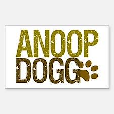 Anoop Dogg Rectangle Decal
