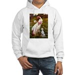 Windflowers / Dalmatian #1 Hooded Sweatshirt