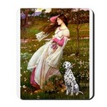 Windflowers / Dalmatian #1 Mousepad