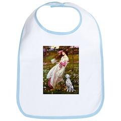 Windflowers / Dalmatian #1 Bib