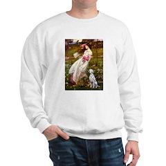 Windflowers / Dalmatian #1 Sweatshirt