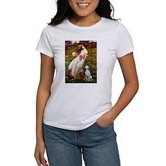 Windflowers / Dalmatian #1 Women's T-Shirt