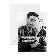 Politics / Language: Orwell Greeting Cards (Packag
