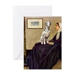 Whistler's / Dalmatian #1 Greeting Card