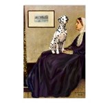 Whistler's / Dalmatian #1 Postcards (Package of 8)