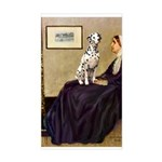 Whistler's / Dalmatian #1 Sticker (Rectangle)