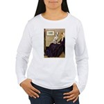 Whistler's / Dalmatian #1 Women's Long Sleeve T-Sh