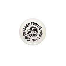 April Fool's Birthday Mini Button