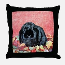 Autumn Holland Lop Throw Pillow