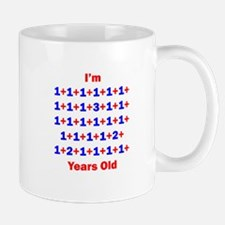 Plus Birthdays 33 Mug