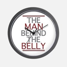 The Man Behind The Belly Wall Clock