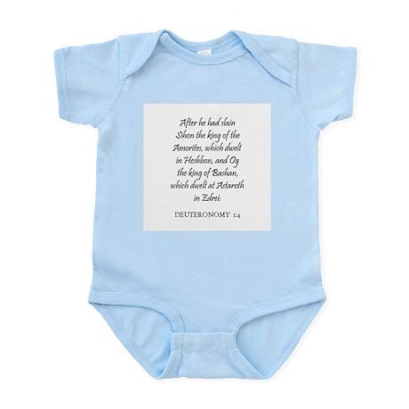 DEUTERONOMY 1:4 Infant Creeper