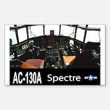 C-130 SPECTRE GUNSHIP Rectangle Decal