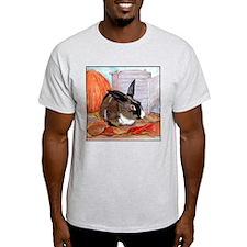 Clancy's Autumn Thanksgiving Ash Grey T-Shirt