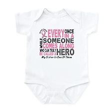 HERO Comes Along 1 Sister BREAST CANCER Infant Bod