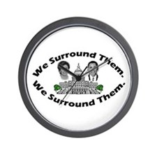 The 9-12 Project - We Surround Them Wall Clock