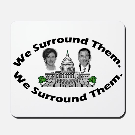 The 9-12 Project - We Surround Them Mousepad
