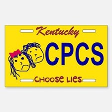 Choose Lies Sticker -- Kentucky