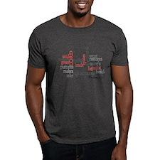 Psalm 23: 1-3 T-Shirt