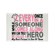 HERO Comes Along 1 Best Friend BREAST CANCER Recta