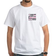 HERO Comes Along 1 Girlfriend BREAST CANCER Shirt