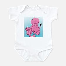 Pink Poodle Infant Bodysuit