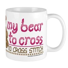My Bear to Cross Mug