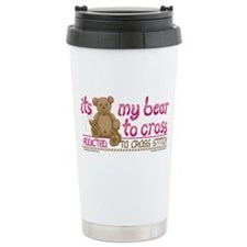 My Bear to Cross Travel Mug