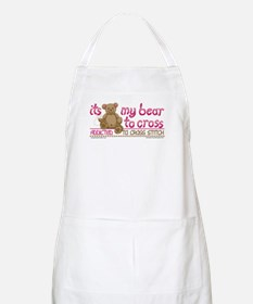 My Bear to Cross BBQ Apron