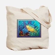 Red Band Wrasse Tote Bag