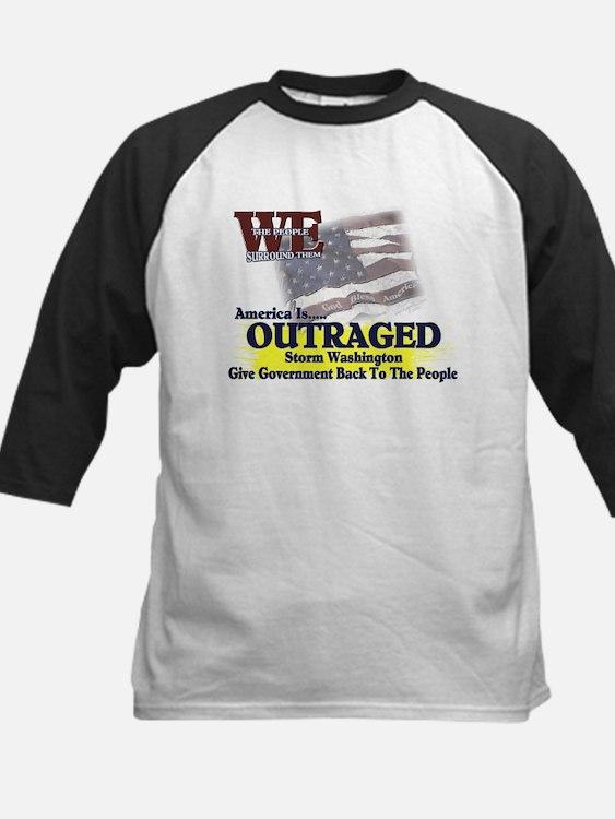 We Surround Them - Outraged Kids Baseball Jersey