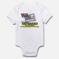 We Surround Them - Outraged Infant Bodysuit