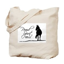 Proud Spirit Sanctuary Horses Tote Bag