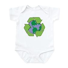 Reduce Reuse Recycle Infant Bodysuit