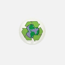 Reduce Reuse Recycle Mini Button (10 pack)