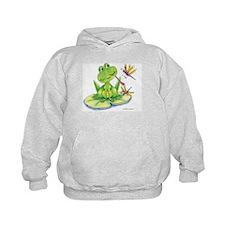 Logan the frog Hoodie