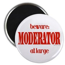 Moderator at Large Magnet