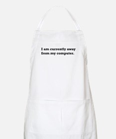Away from Computer. BBQ Apron