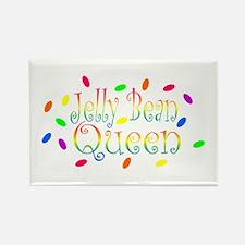 Jelly Bean Queen Rectangle Magnet