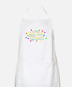 Jelly Bean Queen BBQ Apron