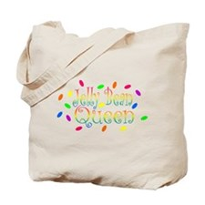 Jelly Bean Queen Tote Bag