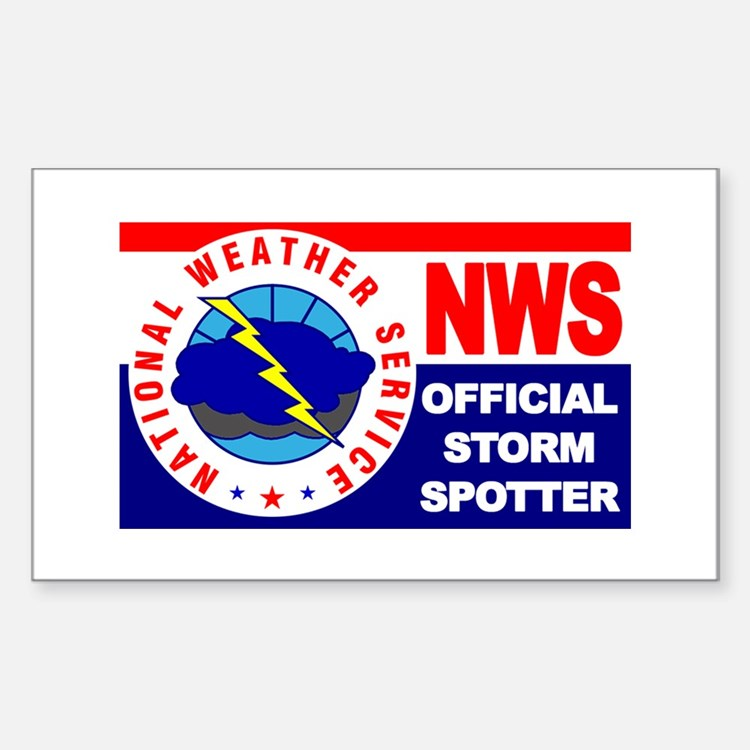 5X3-NWS-OfficialStormSpotter Decal