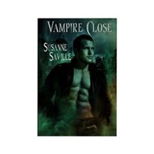Vampire Close Rectangle Magnet