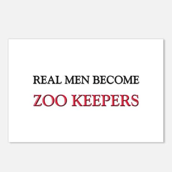 Real Men Become Zoo Keepers Postcards (Package of