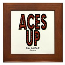 Aces Up! Framed Tile
