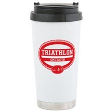 Triathlon Oval - Men's Spectator Travel Mug
