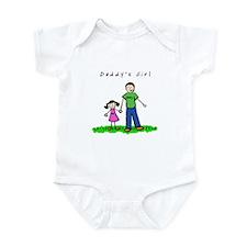Daddy's Girl (Brunette) Infant Creeper