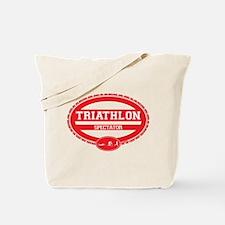 Triathlon Oval - Women's Spectator Tote Bag