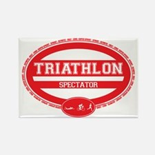 Triathlon Oval - Women's Spectator Rectangle Magne